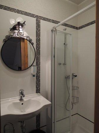 Stari Tisler: clean bathroom