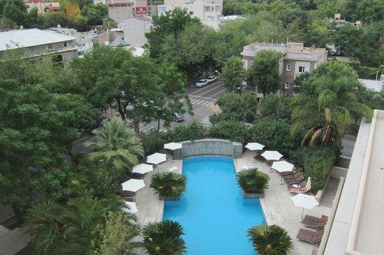 Park Hyatt Mendoza: View from Rm 531