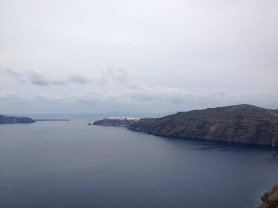 Rocabella Santorini Resort & Spa: View from Hotel
