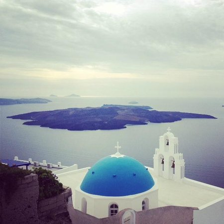 Rocabella Santorini Resort & Spa: Views of Volcanic Island