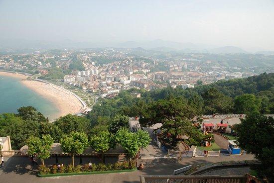 Mercure Monte Igueldo: Panorama dalla hall