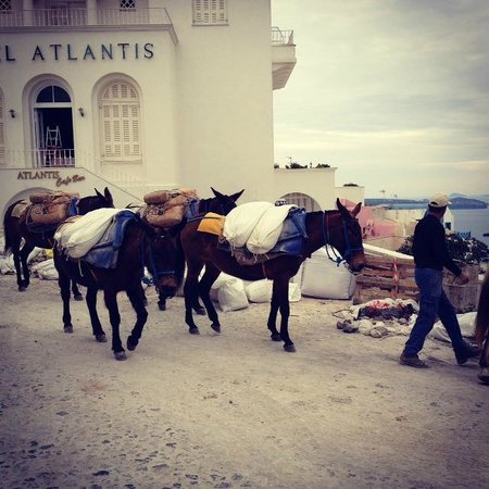 Rocabella Santorini Hotel & Spa : Local town