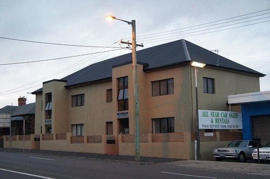 View on Hobart Lodge,