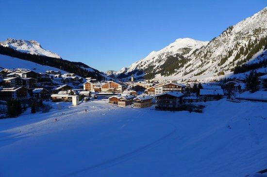 Kristiania Lech: Lech village
