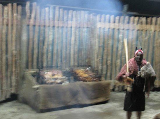 Pueblo maorí Tamaki: ショー