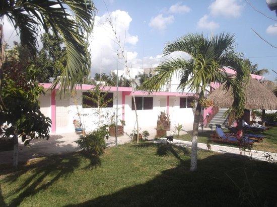 Hotel Dana Express Bacalar : Photo du 22 février 2014.