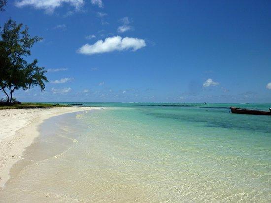Ambre Resort & Spa: la plage aux langoustes