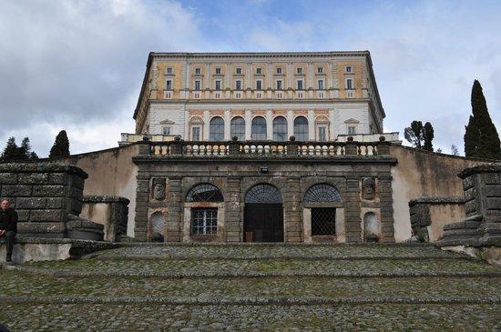 Palazzo Farnese: Vista del complesso dalla scalinata