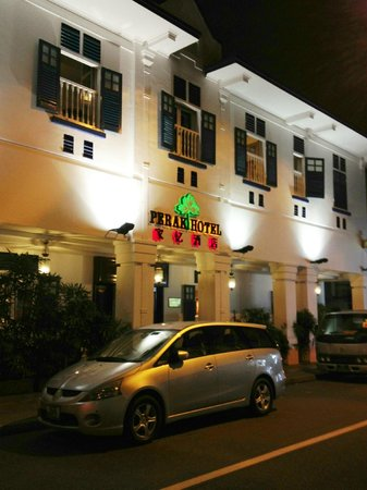 Perak Hotel : いい感じの外観