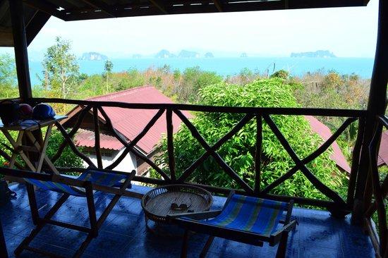 Tabeak Viewpoint Bungalows : Onze bungalow