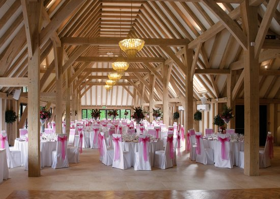 The Old Kent Barn: Inside the New Barn