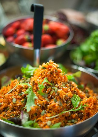 Lyons Cafe: Carrot and Coriander Salad