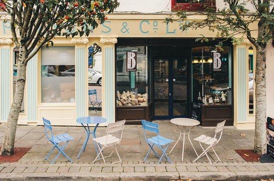 Lyons Cafe: Outside our Bake Shop