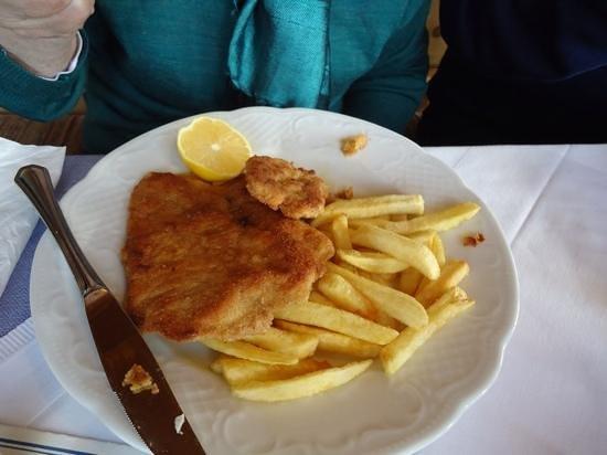 Alpengasthof Hochlenzer Restaurant: puten schinitzel
