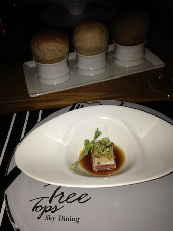 Tree Tops : Amuse Bouce and special breads