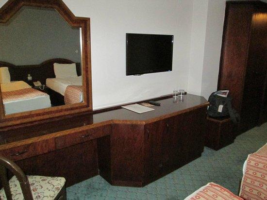 Mustafa Hotel: Fernsehecke