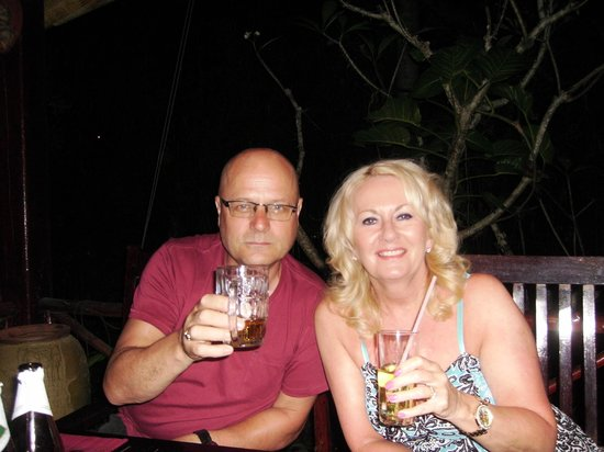 Drinks at Le Cap Breton
