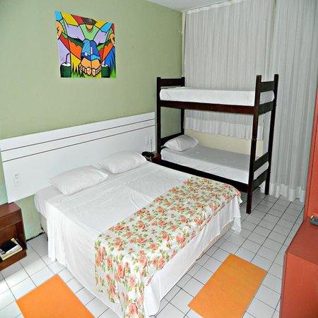Hotel Sonho De Familia: quartos quadruplos