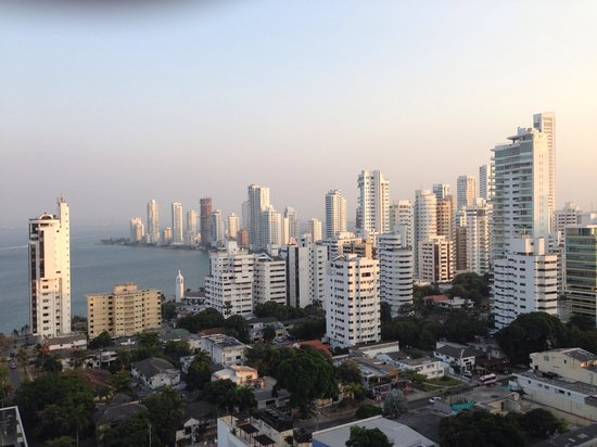 Hampton by Hilton Cartagena: Vista a