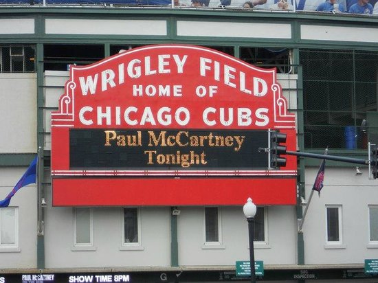 Wrigley Field : concert at wrigley