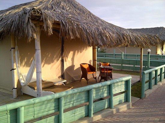 Vichayito Bungalows & Carpas by Aranwa: La carpa suite frente al mar