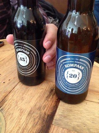 Restaurant Blij : Cerveja local