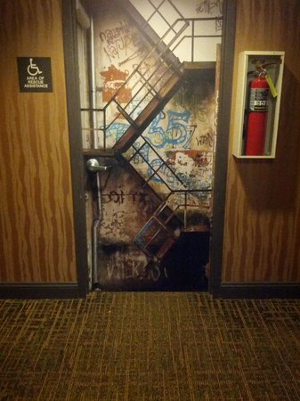 ACME Hotel Company Chicago : art on doors