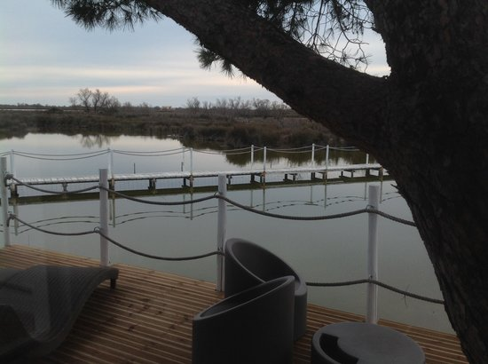 Mas de la Fouque: View