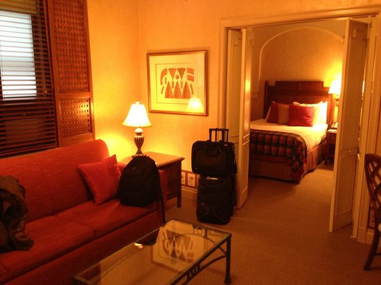 Casablanca Hotel by Library Hotel Collection: We were upgraded to a suite on arrival!