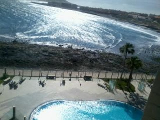 Hotel  Arenas del Mar: View from room