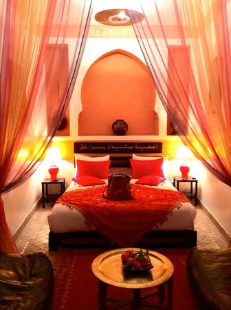 Riad La Porte Rouge : Chambre 1er étage