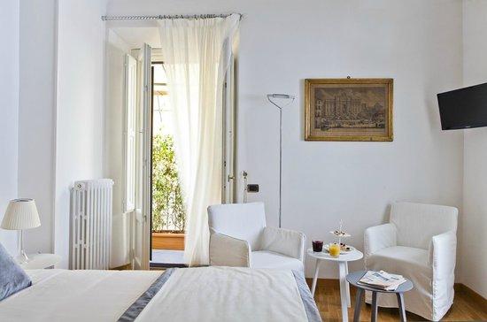 Garibaldi Suites: panoramica Mazzini Suite