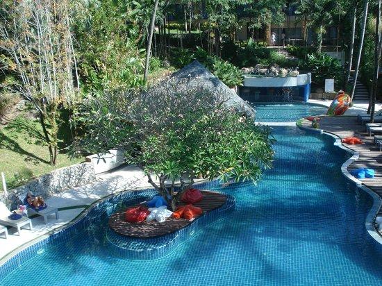 Peach Hill Hotel & Resort: vue du balcon