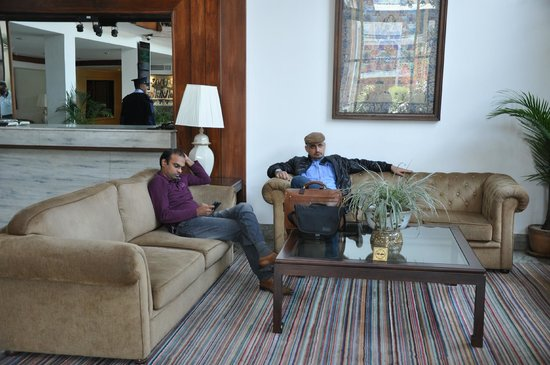 Hotel Annapurna: Lobby