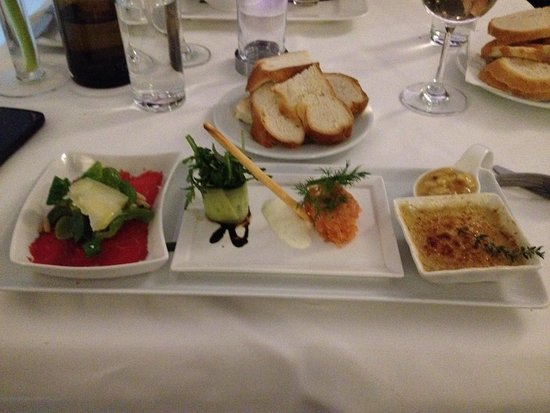 Restaurant Entler : Mixed starter