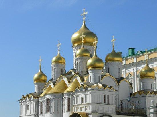 Moskauer Kreml: Cremilino le cupole d'oro