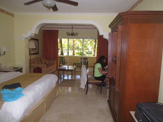 Gran Melia Golf Resort Puerto Rico : our ground floor room