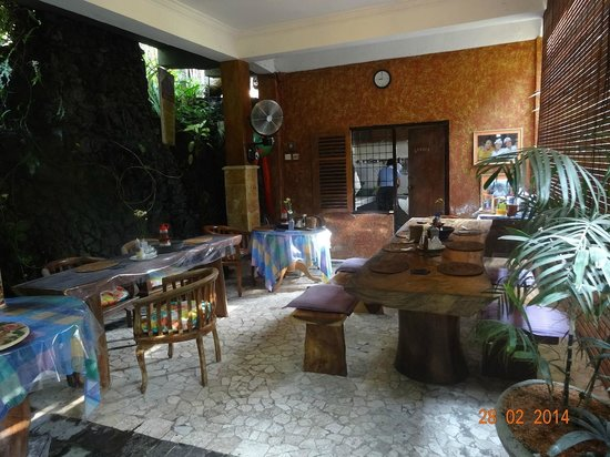 Nirwa Ubud Homestay: The breakfast Place
