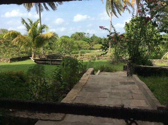 Mafia Island Lodge : from the diningarea