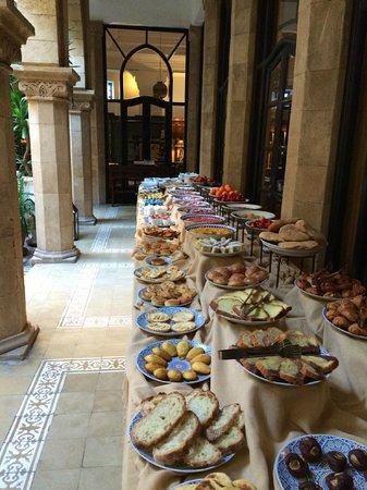 L'Heure Bleue Palais: Petit Dejeuner