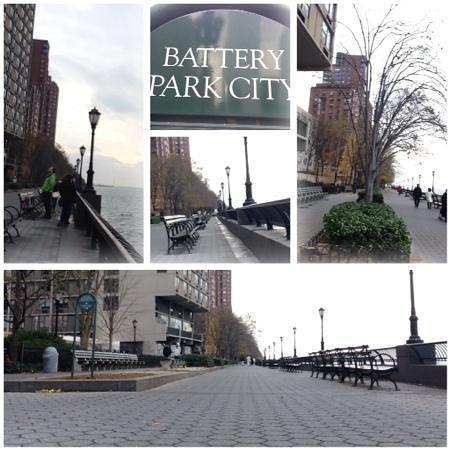 Battery Park Esplanade.