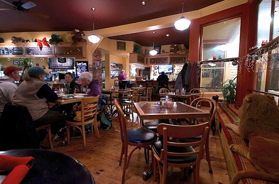 Deerfield, Nueva Hampshire: The dining room