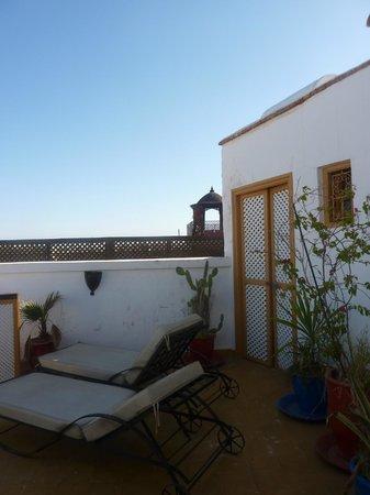 Riad Villa Mouassine : Terasse