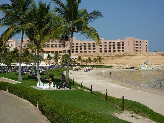 Shangri-La Al Husn Resort & Spa: Looking towards the Shangri-La Al Husn