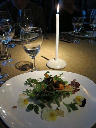 Cassis: Salad