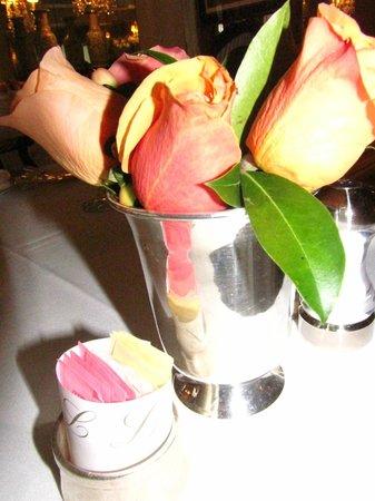Lowell Hotel: Flores frescas
