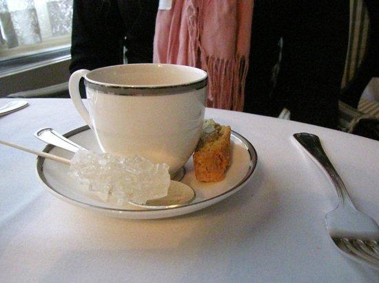 Lowell Hotel : Detalhe no café