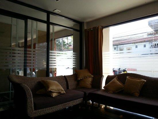 Orientala Spa : 待合室のような所です