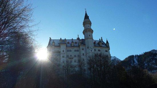 Schlossrestaurant Neuschwanstein : Neuschwanstein castle  14/02/2014