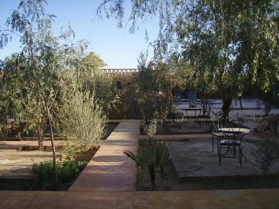 Palais des dunes : Jardin